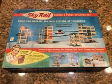 1963 kenner sky rail girder panel