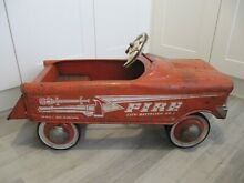 Pedal car 1950 s 60 s usa fire
