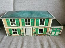 Mettoy tinplate dolls house garage