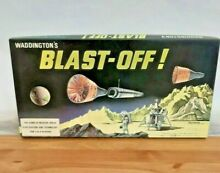 Blast off 1969 board game by