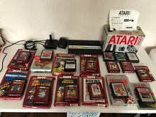 Boxed inc games cables and joystick