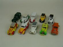 Lot de 10 miniatures citroën 2cv 1