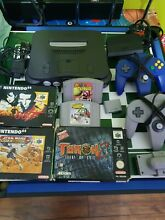 Nintendo n64 console 5 games some
