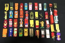 Collection of 1970s matchbox