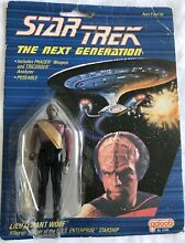 Lt worf carded figure