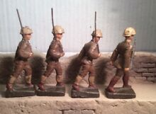 4 belgian compostion soldiers