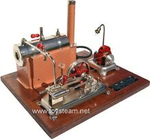 Jensen model 25g live steam engine