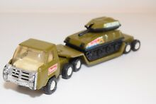 Tinplate blech truck trailer and