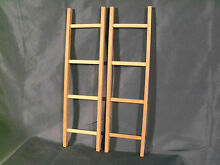 New pedal car wooden ladders set of