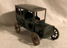 Early german wind up tin toy car