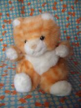 Ginger sitting cat soft toy 8