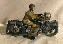 A 643 cko tin wind up motorcycle