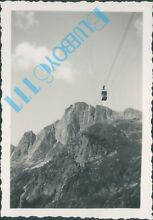 Brevent french cable car in 1938 3