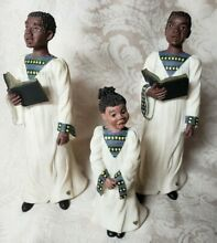 3 pc sarah s attic black figurine