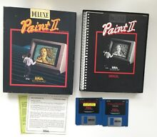 Deluxe paint ii plus software for