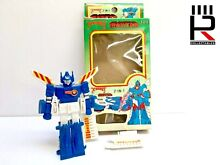 1980s xrobots ironcar blue gale