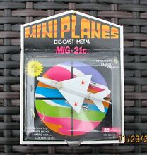 Mini planes blister pack boxed mig