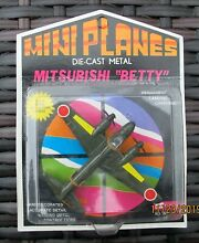 Mini planes blister pack boxed