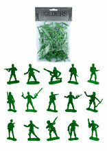 50 green toy soldiers pinata toy