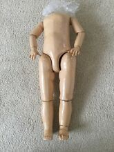 Large 20 french doll body