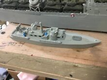Z scale p t boat waterline ship