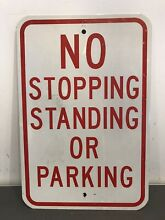 Real no stopping standing parking