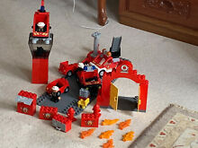 Lego bundle used fire station 1 5kg