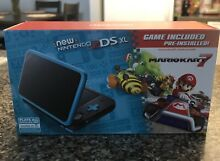 In hand new nintendo 2ds xl black