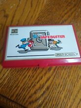 Nintendo safebuster game and watch