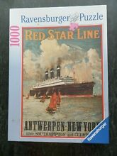 Ravensburger jigsaw puzzle red star
