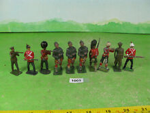 Britains x10 mixed collectable
