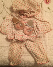 Doll clothes pajamas and house