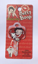 Betty boop heart and dog key blank