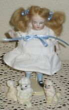 4 1 2 german all bisque girl doll