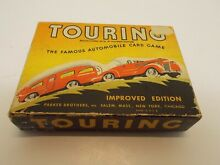 Touring automobile card game by