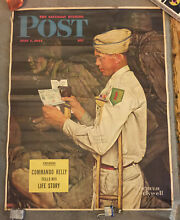 Saturday evening post poster signed