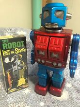 Robot plus lost in space robot