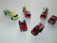 Funrise lot fire engine trucks and