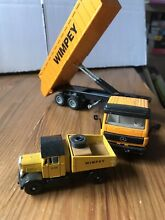 Mercedes benz wimpey tipper lorry