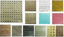 New tiles letters 100 set of game