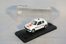 221 peugeot 205 police mint boxed