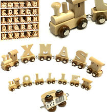 Wooden alphabet personalised name