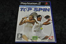 Playstation 2 top spin geen manual