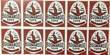 Stickers brown square wyn toy
