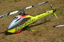 Sab goblin 500 sport ready to fly