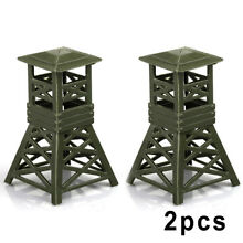 2x new military watch tower model