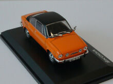 Skoda 110 r coupe gray orange black