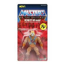Robot he man collection masters of