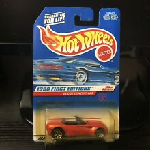 Hot wheels 1998 first editions