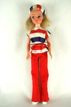 Sindy blonde bunches hair doll in
